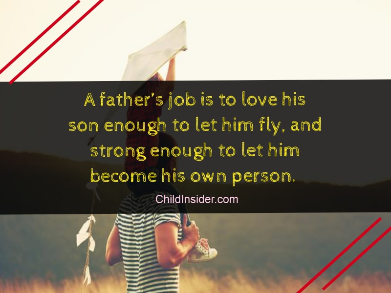 Loveable quotes about father son bonding