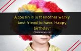 funny birthday wishes for cousin brother