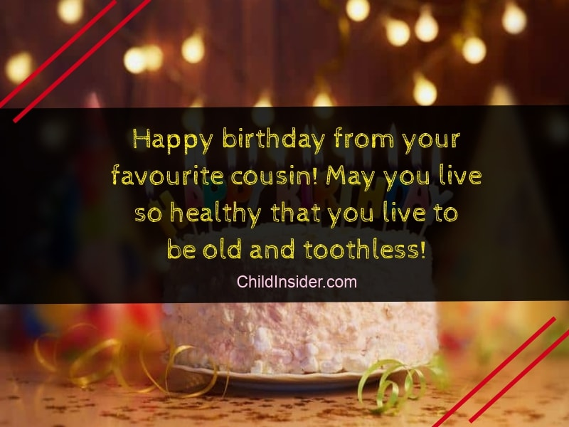 20 Funny Birthday Wishes For Cousin Brother That Ll Make Him Smile