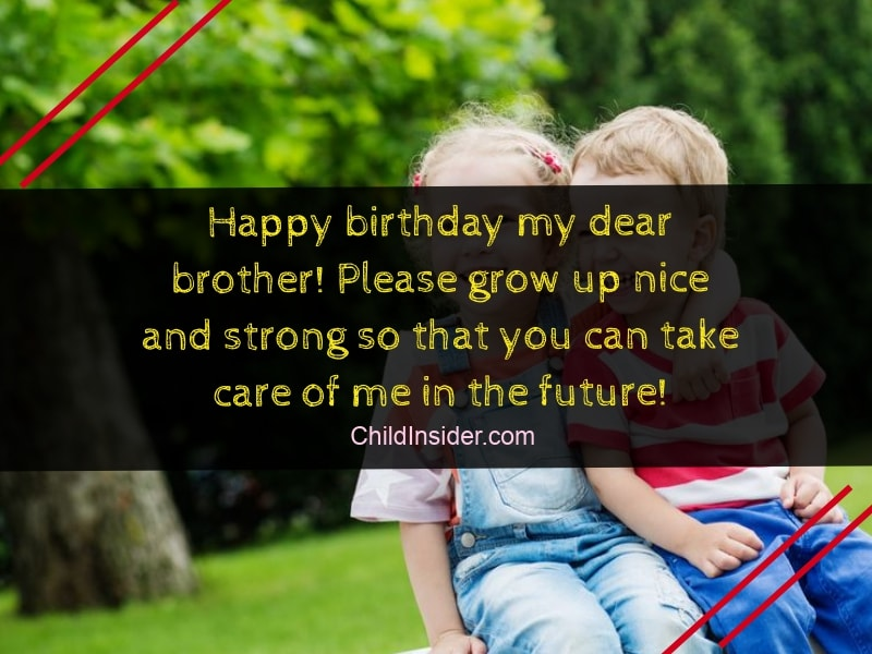 Astonishing Younger Brother Funny Birthday Wishes For Brother From Sister Personalised Birthday Cards Paralily Jamesorg