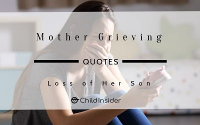 mother grief loss of son quote