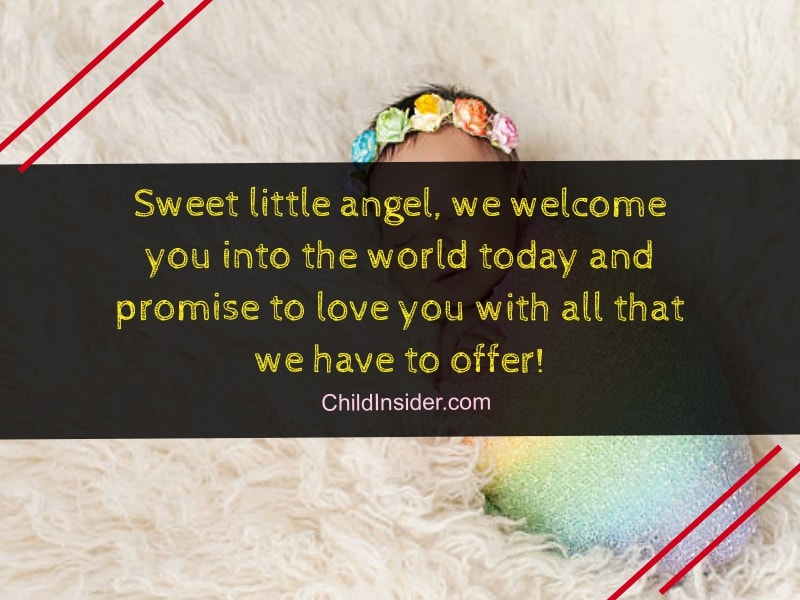 40 New Baby Girl Congratulation Quotes to Welcome Little ...