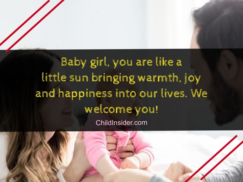 40 New Baby Girl Congratulation Quotes To Welcome The Little Princess