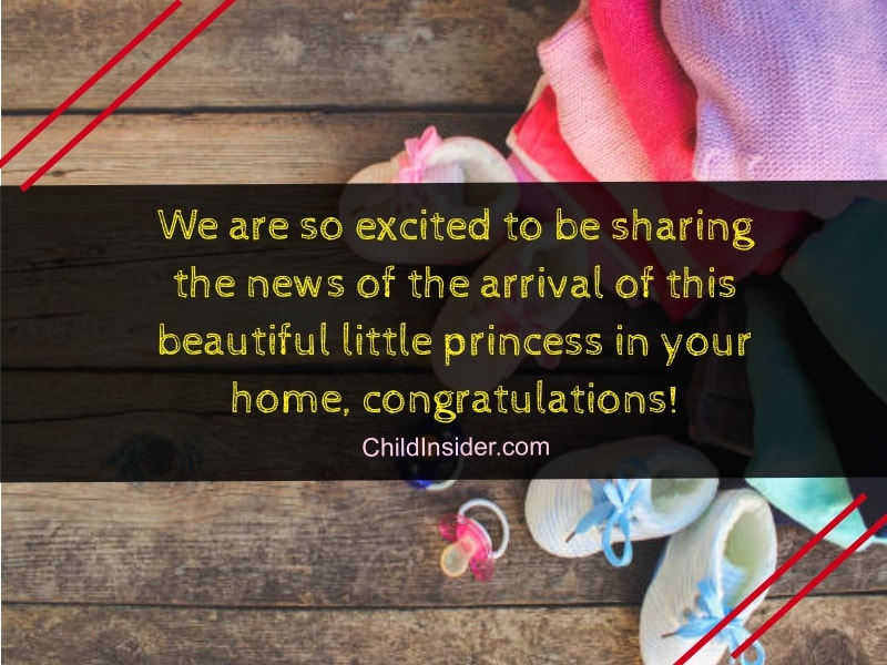 40 New Baby Girl Congratulation Quotes to Welcome Little