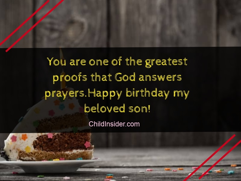 50 Best Birthday Quotes & Wishes for Son from Mother – Child ...