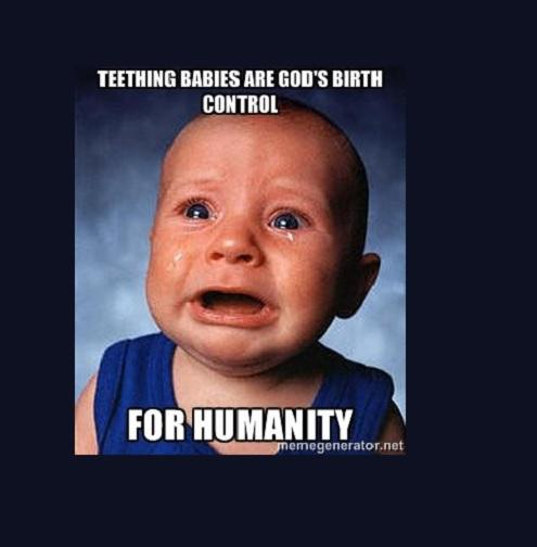 20 Cute Teething Baby Memes That Bring Fun Vibes Child