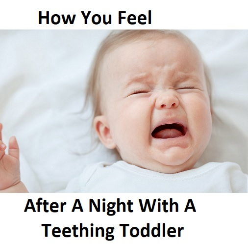 lovely memes about teething baby