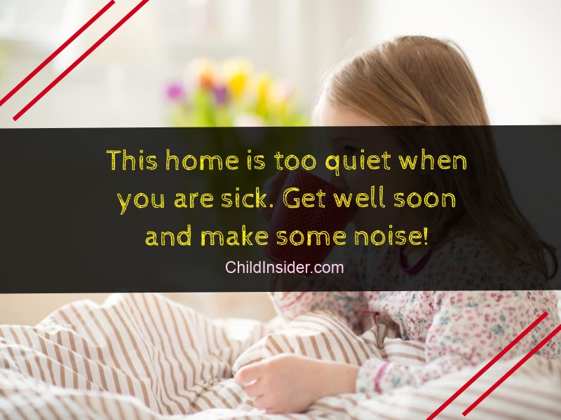 Top 10 Words of Encouragement for Sick Child - Child Insider