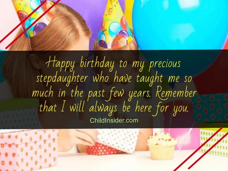 50 Birthday Wishes for Step Daughters to Express Love