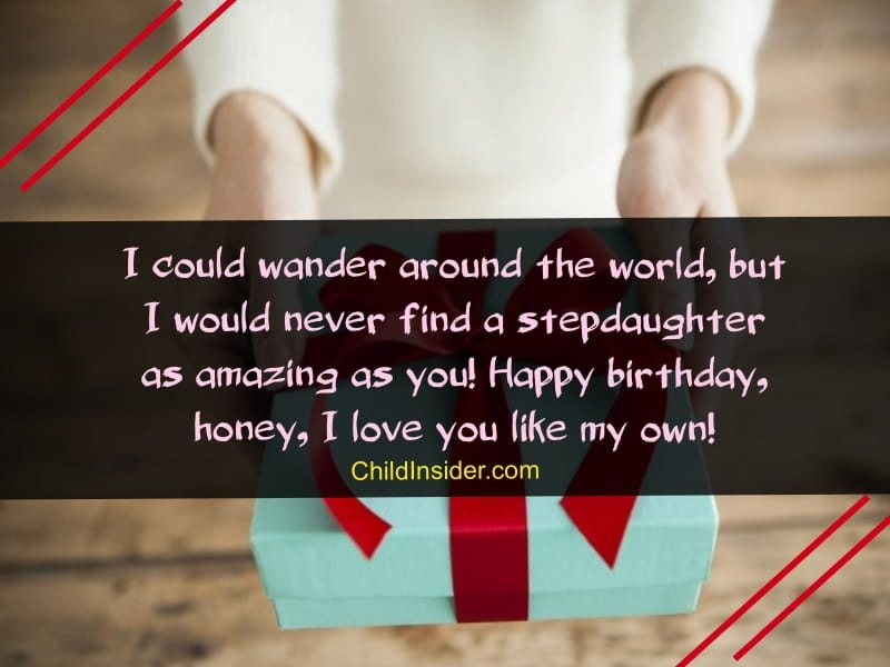lovely birthday quotes for step daughter