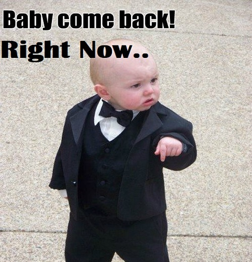 hilarious baby come back memes