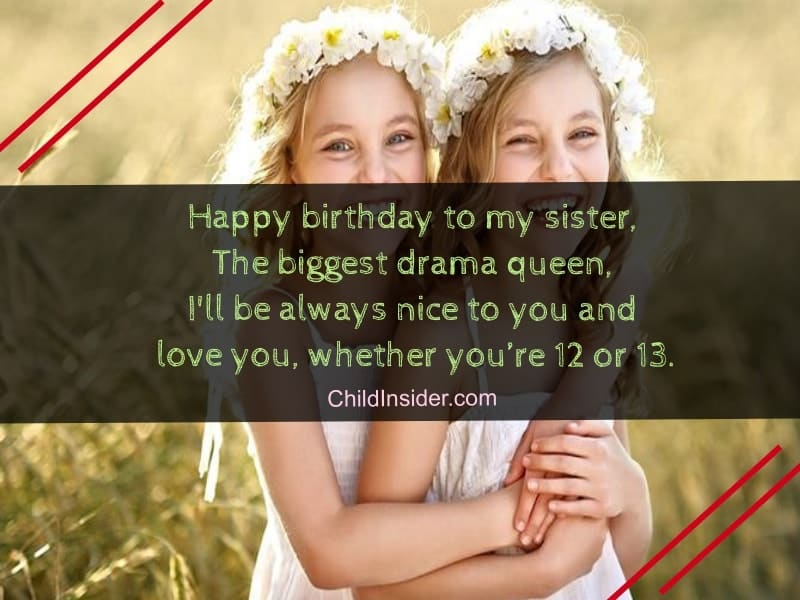 happy birthday poems for your sister