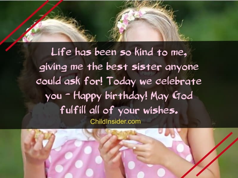 birthday wishes for sister that melts your heart