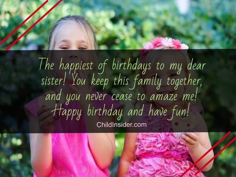 happy birthday quotes for your sister