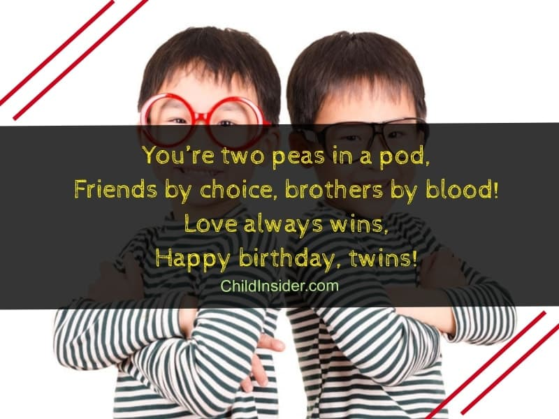 60 Amazing Birthday Wishes for Twins on Their Special Day