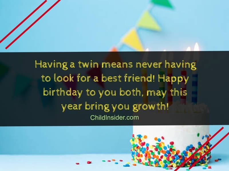 60 Amazing Birthday Wishes for Twins on Their Special Day ...