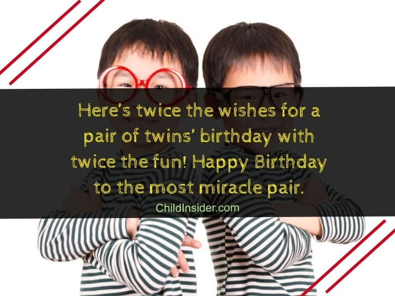 birthday wishes for twin brother