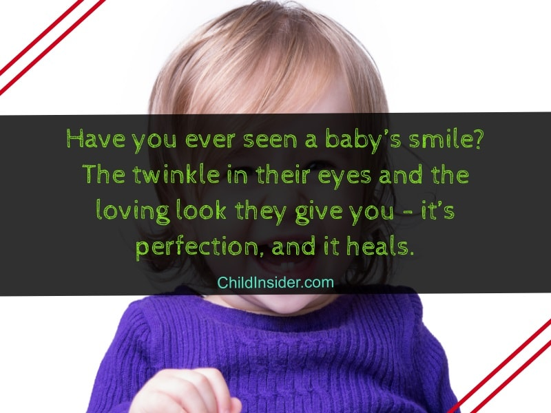 quotes about child smile