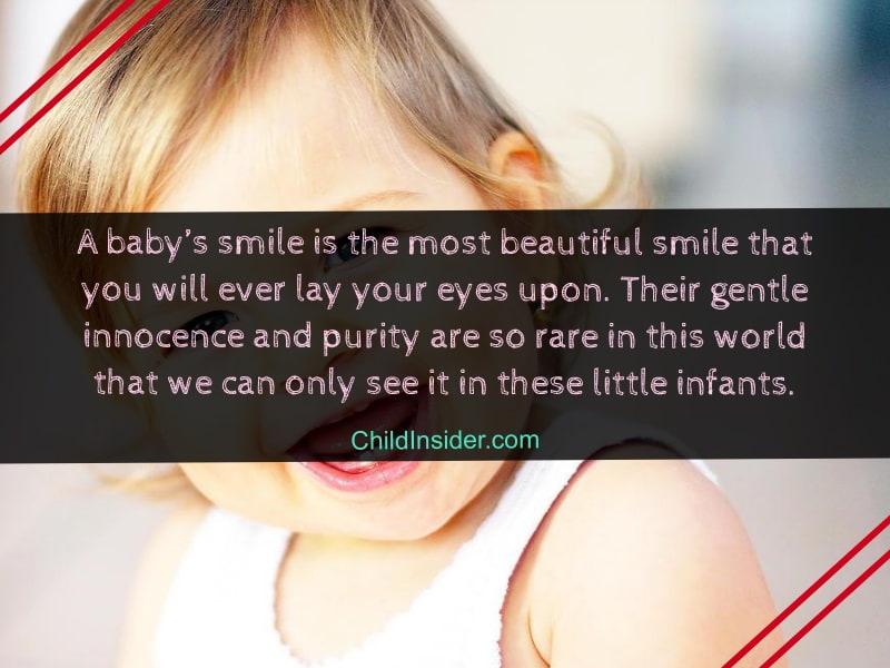 child smile quotes