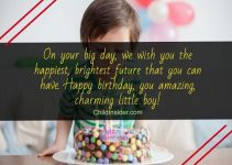 happy birthday little boy quotes