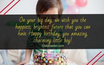 happy birthday little boy quotes