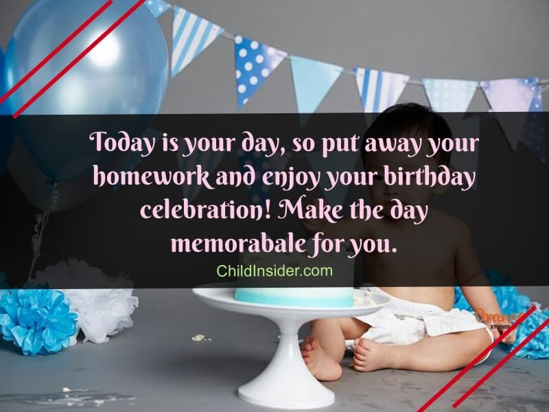 birthday quotes for little boy
