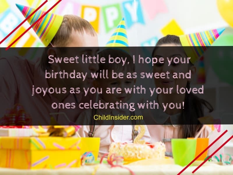 happy birthday little boy quotes for your special boy