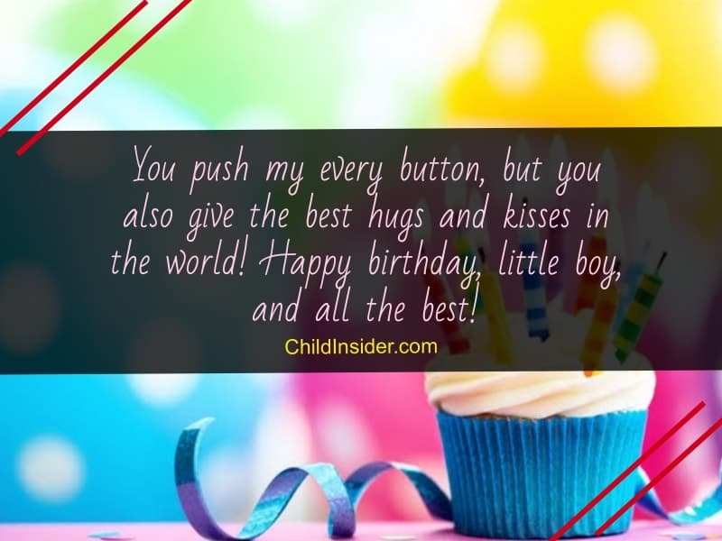 best birthday wishes for little boy