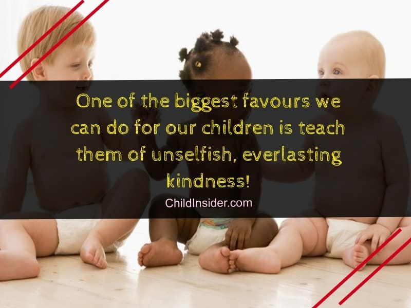 Quotes to make kids kind