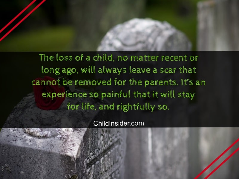 emotional loss of child quotes