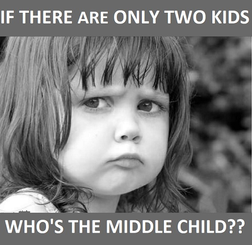 memes about middle child