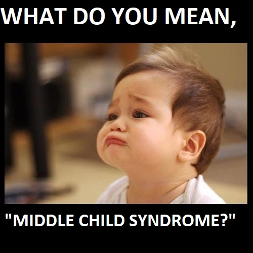 middle child syndrome memes