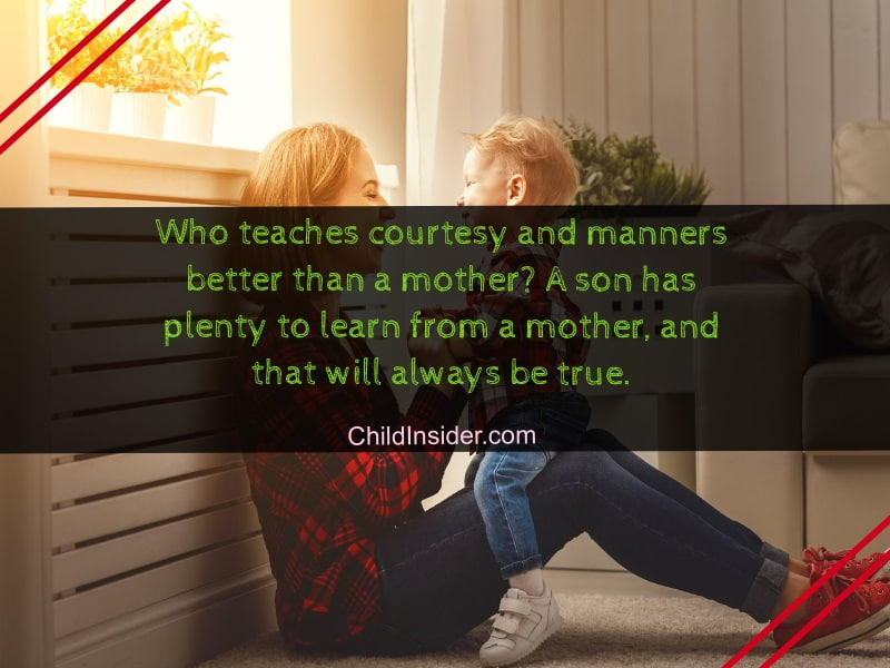 20 Best Mother and Son Bonding Quotes With Images – Child
