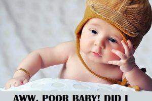 poor baby memes