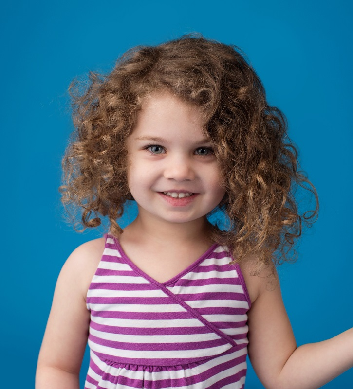 curly hairstyle for toddler girl