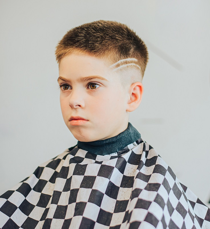 fade haircut for 9 year old boys