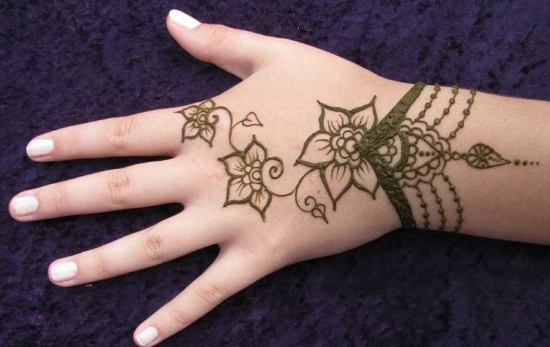 4a1301d3f5b76 10 Cutest Henna Mehndi Designs for Kids – Child Insider