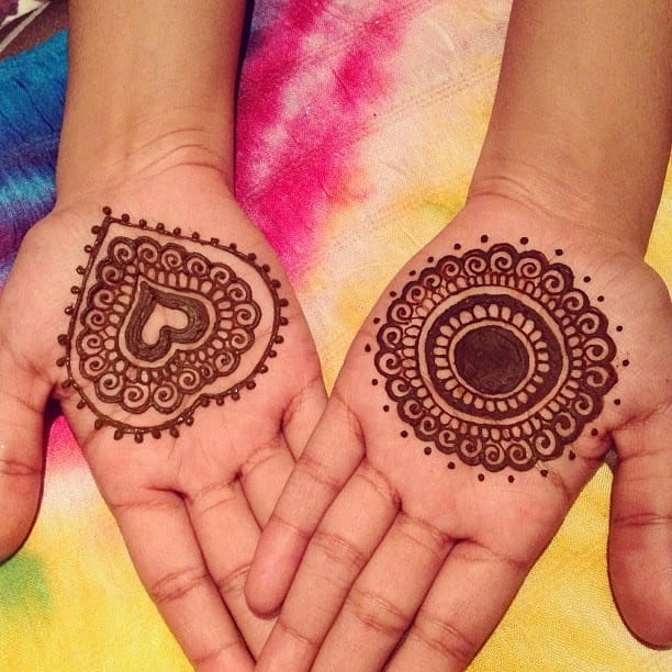 Mandala Henna Design for Kids