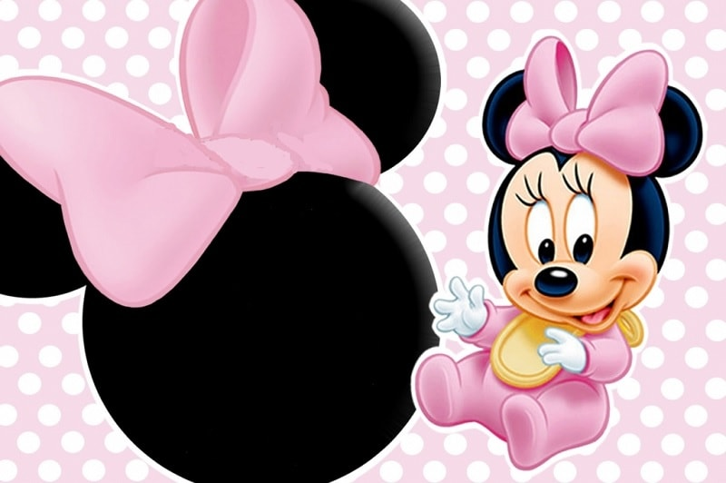 cute baby minnie mouse printable