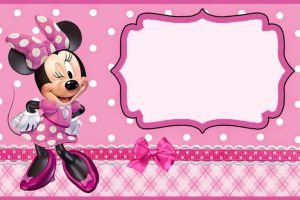 minnie mouse printables for birthday party