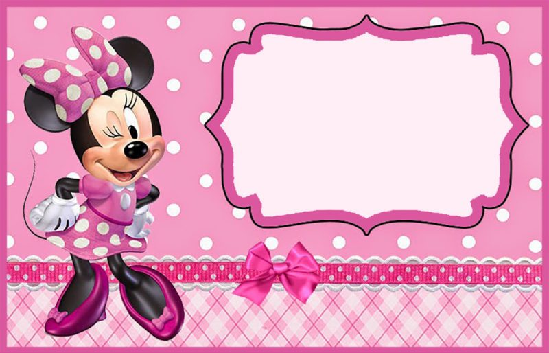 picture about Minnie Mouse Printable identify 7 Absolutely free and Lovable Minnie Mouse Printables for Birthday Get-togethers