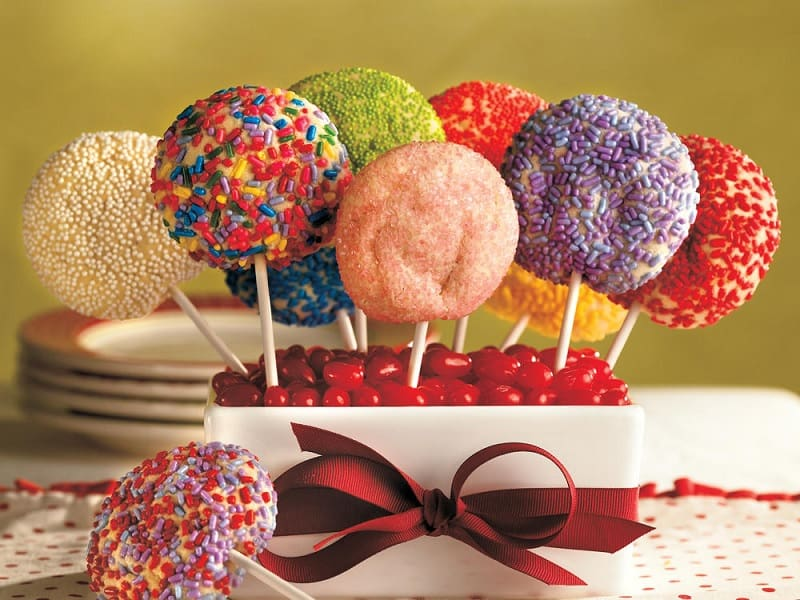 cookie pops for kid's party