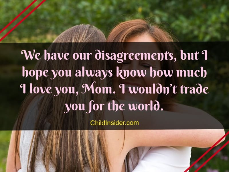 best I love you mom quotes from daughter