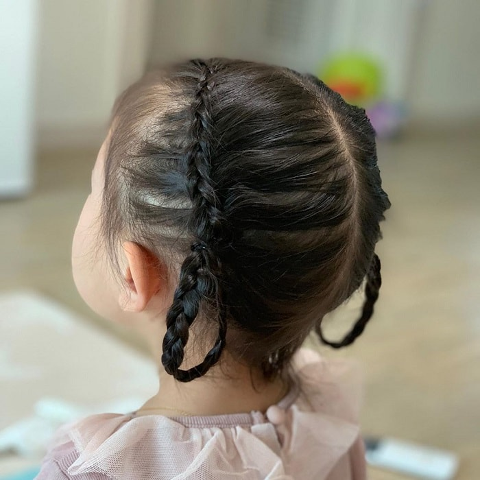 braided hairstyles for baby girls
