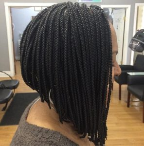 black girl bob hairstyle