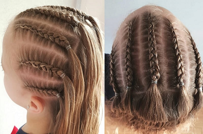 little girl's braided hairstyles