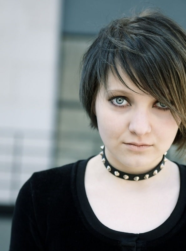 short emo hairstyles for girls