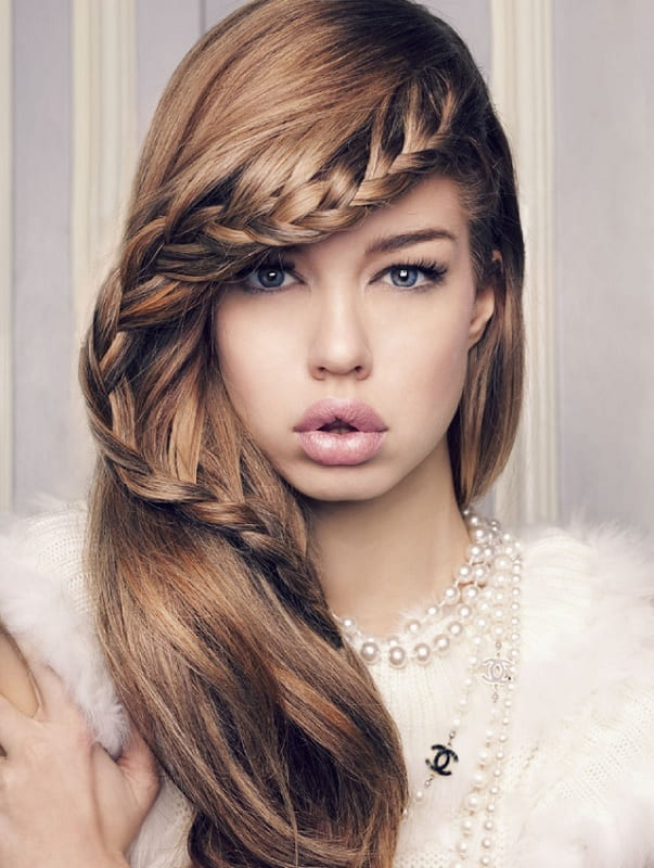 frontal braid hairstyles for girls
