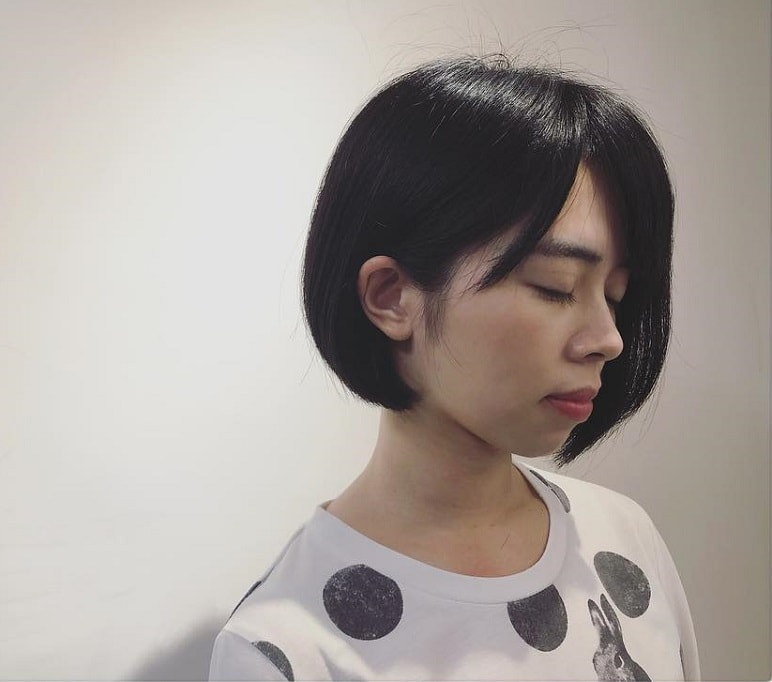 short hairstyles for Asian Girls