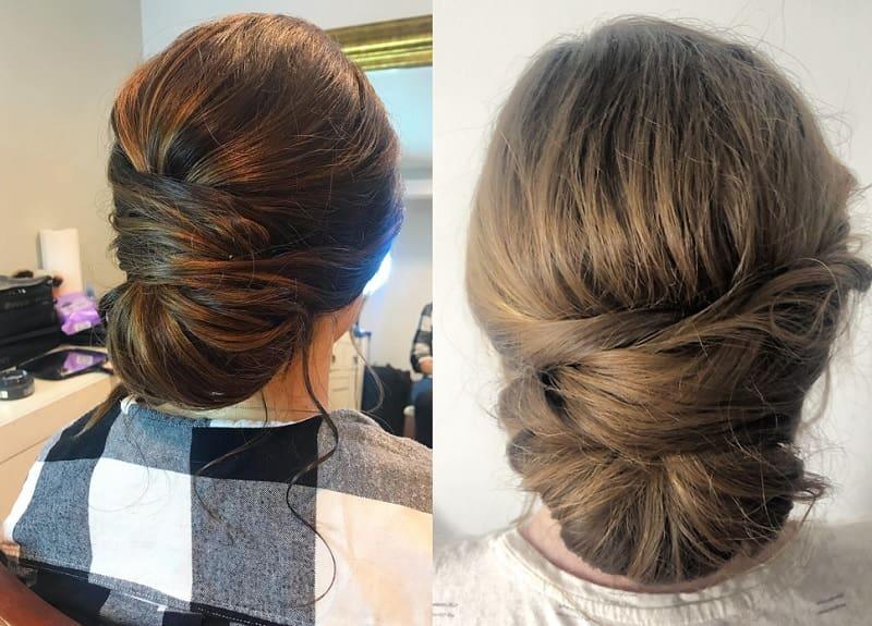 messy bun styles for girls